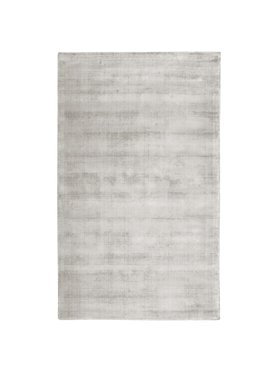 Ręcznie tkany dywan z wiskozy Jane, Jasny szarobeżowy, S 120 x D 180 cm (Rozmiar S)