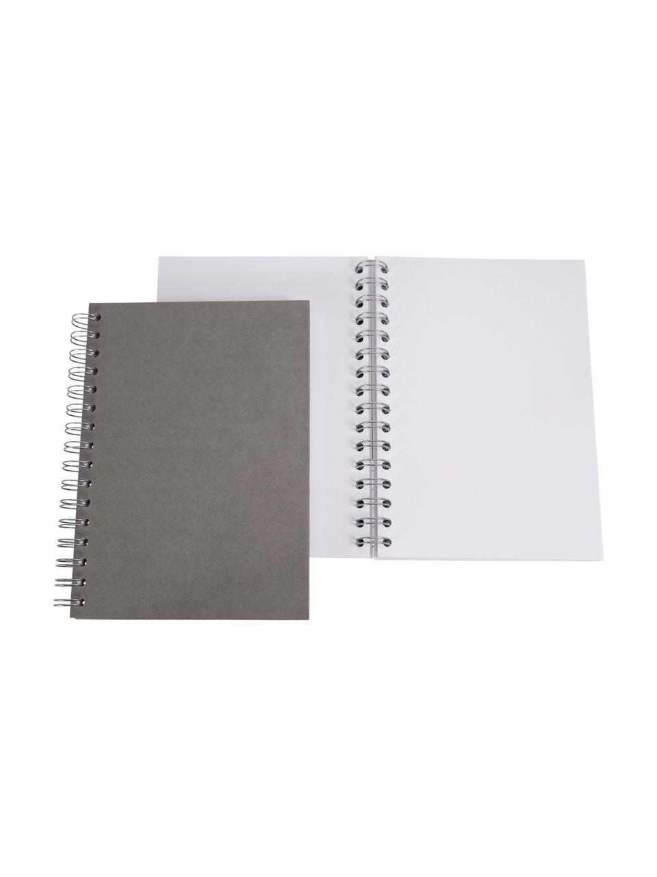 Notizbuch Bürli, Grau, 16 x 21 cm