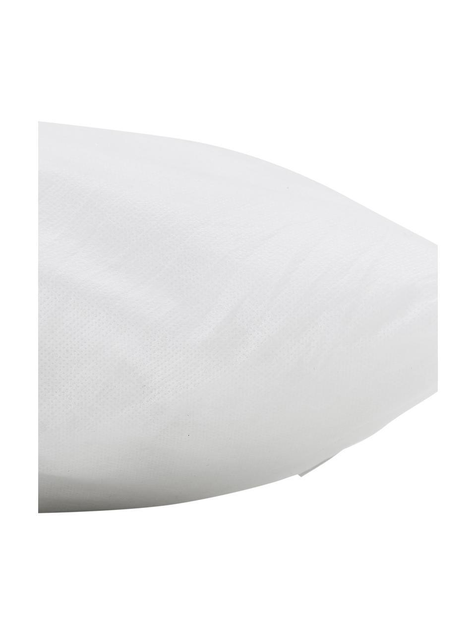 Kissen-Inlett Egret, 30x60, Polyester-Füllung, Bezug: Kunstfaser, Weiß, 30 x 60 cm