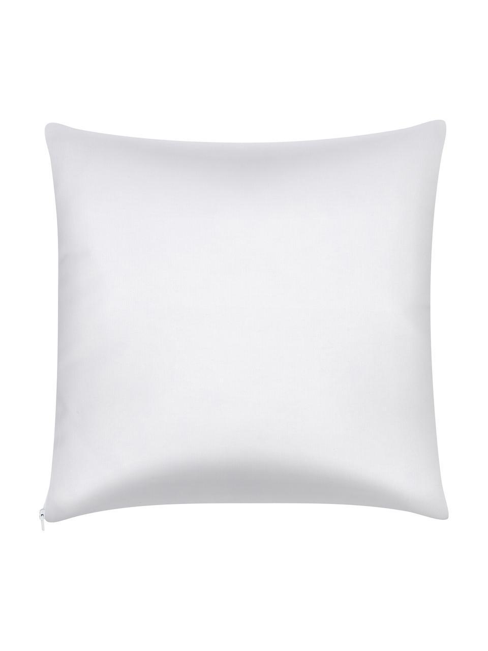 Kissenhülle Corey mit Streifen in Gelb/Weiß, 100% Baumwolle, Gelb-Orange, Weiß, 40 x 40 cm