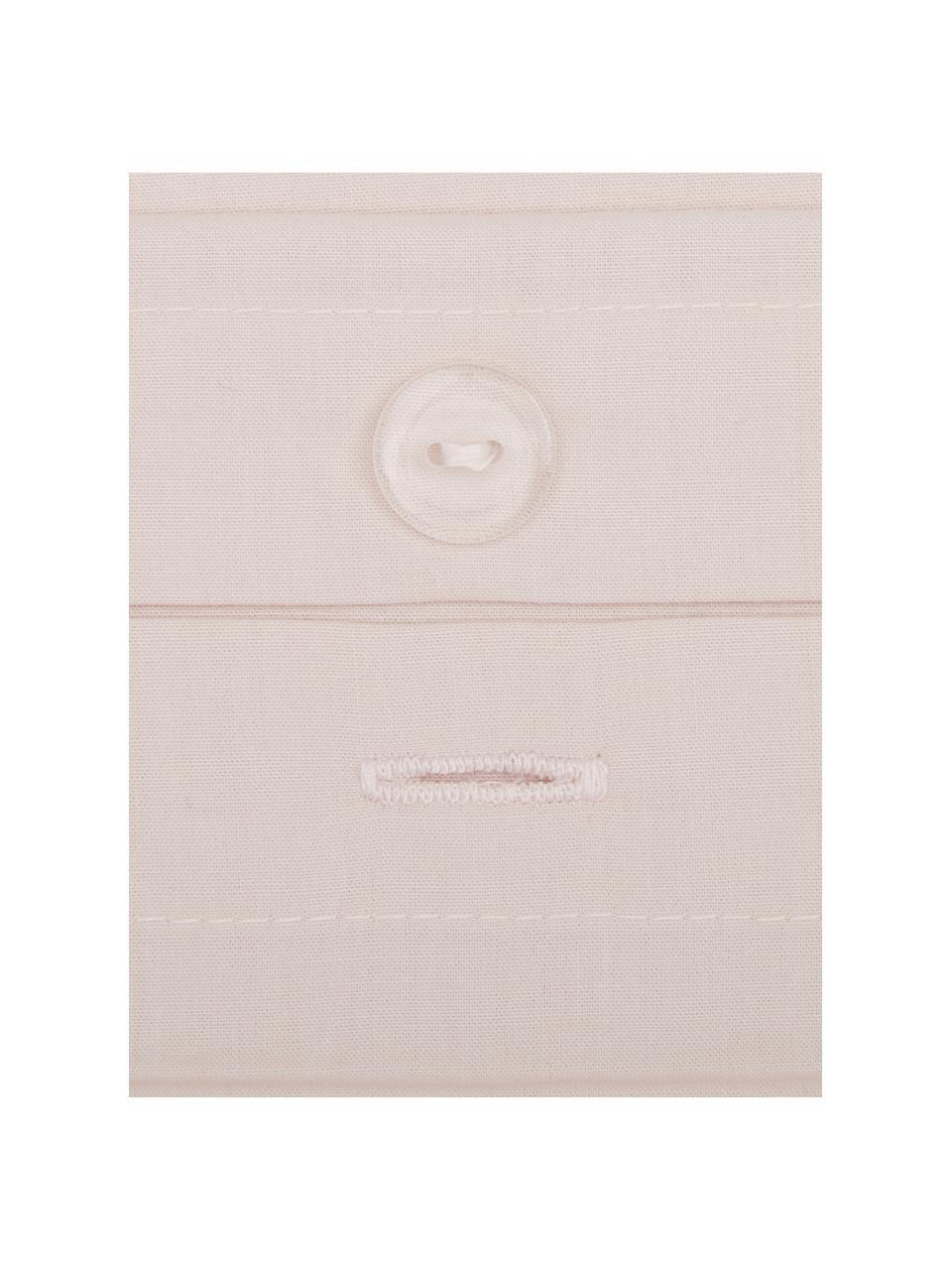 Parure copripiumino in percalle Elsie, Tessuto: percalle Densità del filo, Rosa, 255 x 200 cm + 2 federe 50 x 80 cm