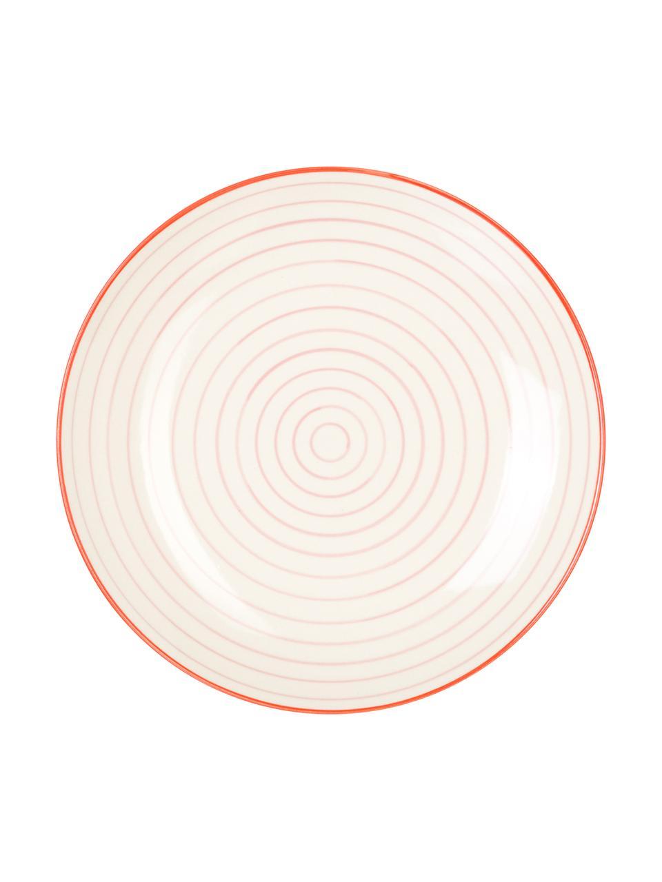 Komplet talerzy śniadaniowych Susie, 4 elem., Kamionka, Wielobarwny, Ø 20 cm