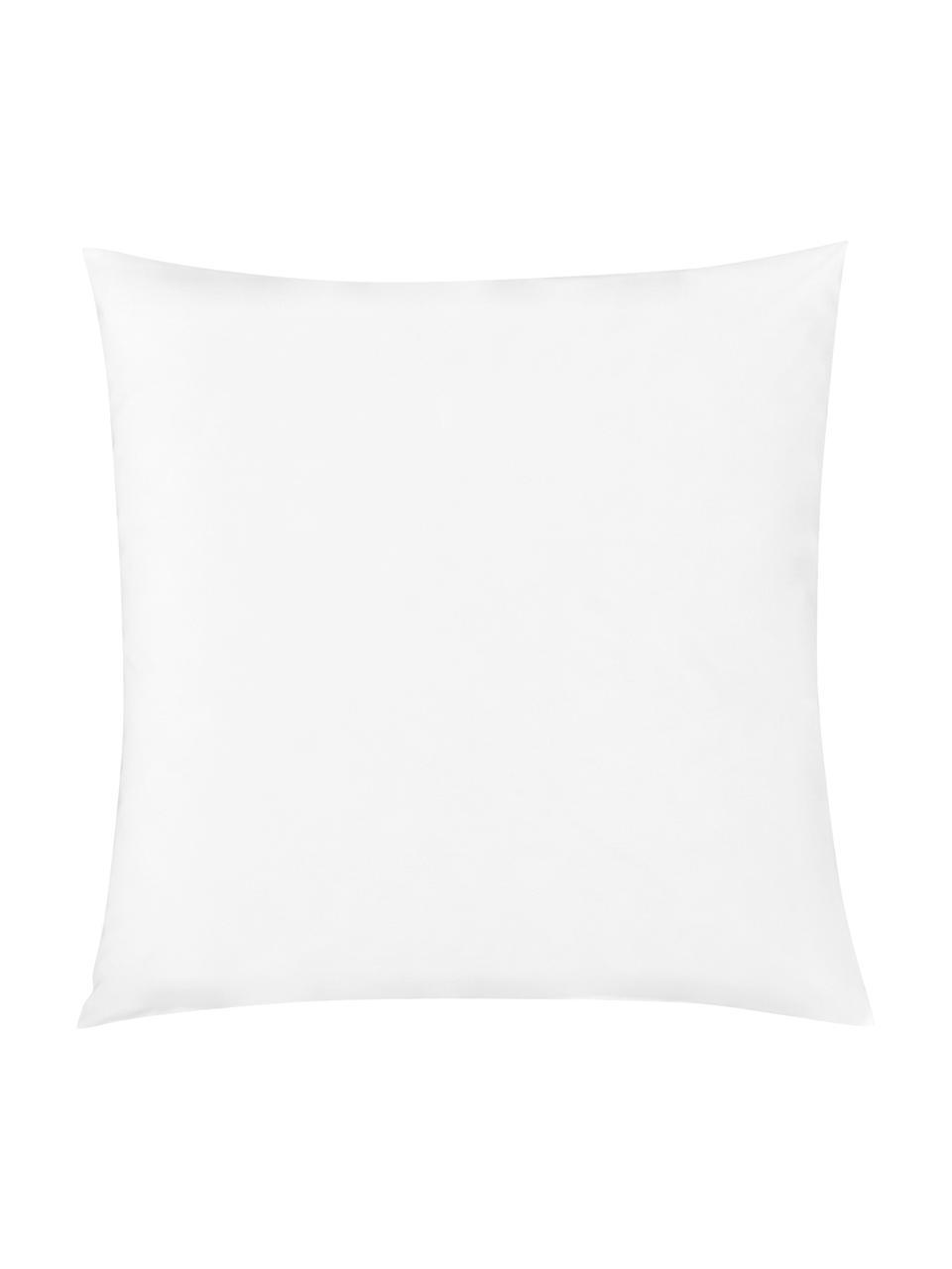 Taie d'oreiller 65x65 percale Elsie, 2pièces, Blanc