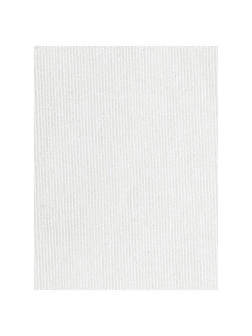 Copertura poltrona Levante, 65% cotone, 35% poliestere, Color crema, Larg. 55 x Lung. 220 cm