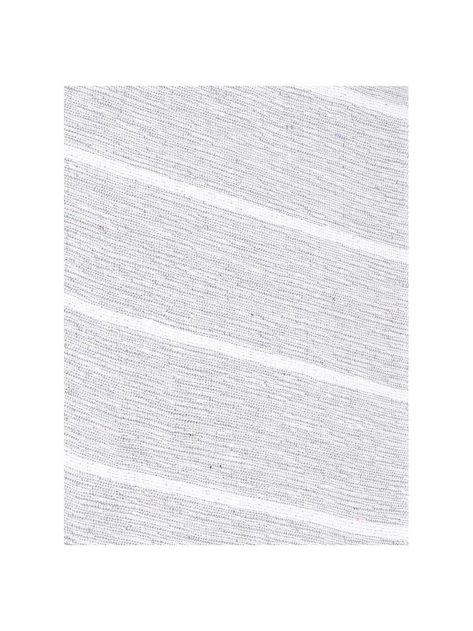 Narzuta Homely, 80% bawełna, 20% poliester, Szaroniebieski, biały, S 230 x D 250 cm (do łóżek od 160 x 200)