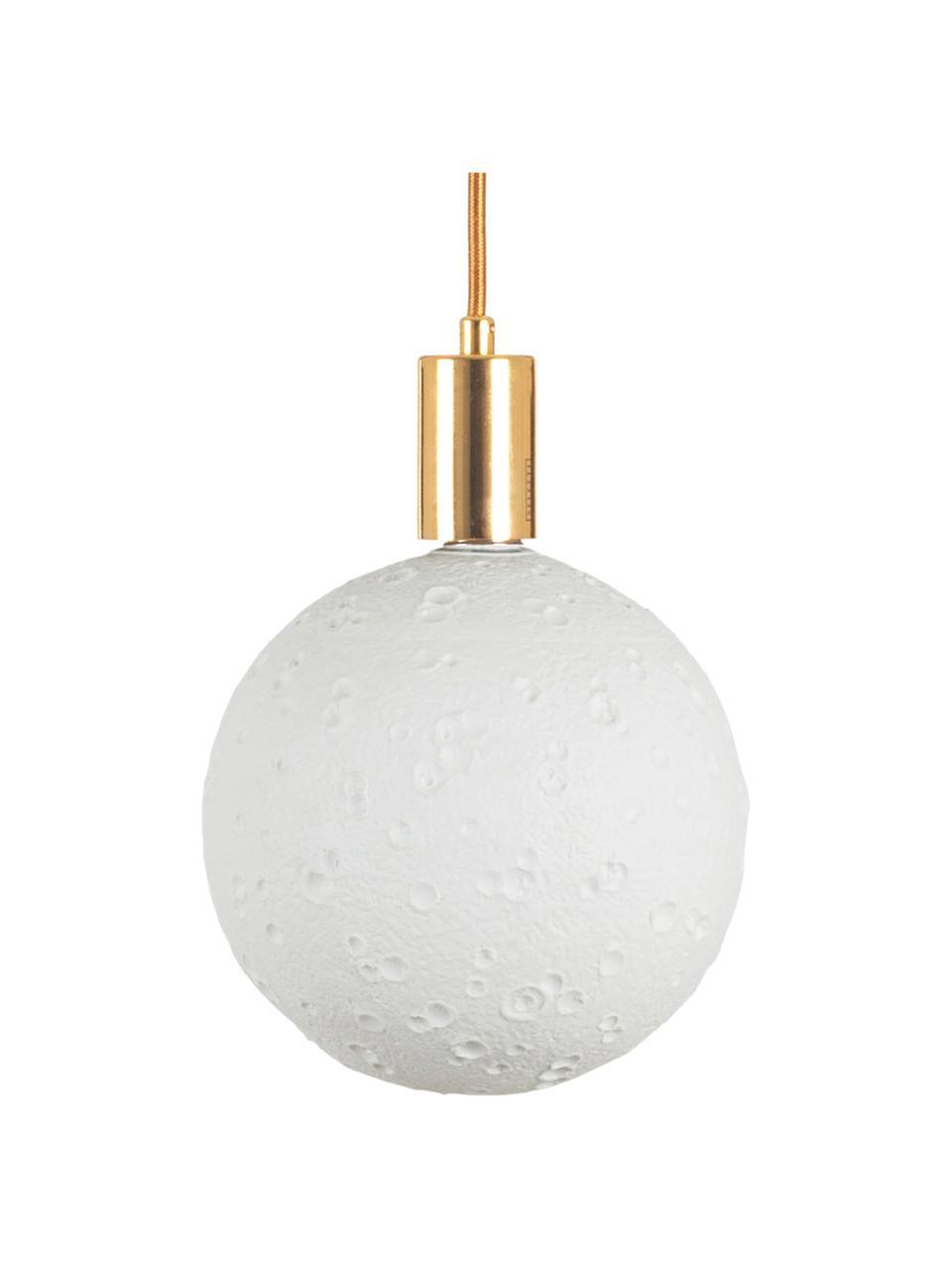 Lampada E27, 8W, bianco neutro, 1 pz, Paralume: porcellana, Base lampadina: alluminio, Bianco, Ø 18 x Alt. 20 cm