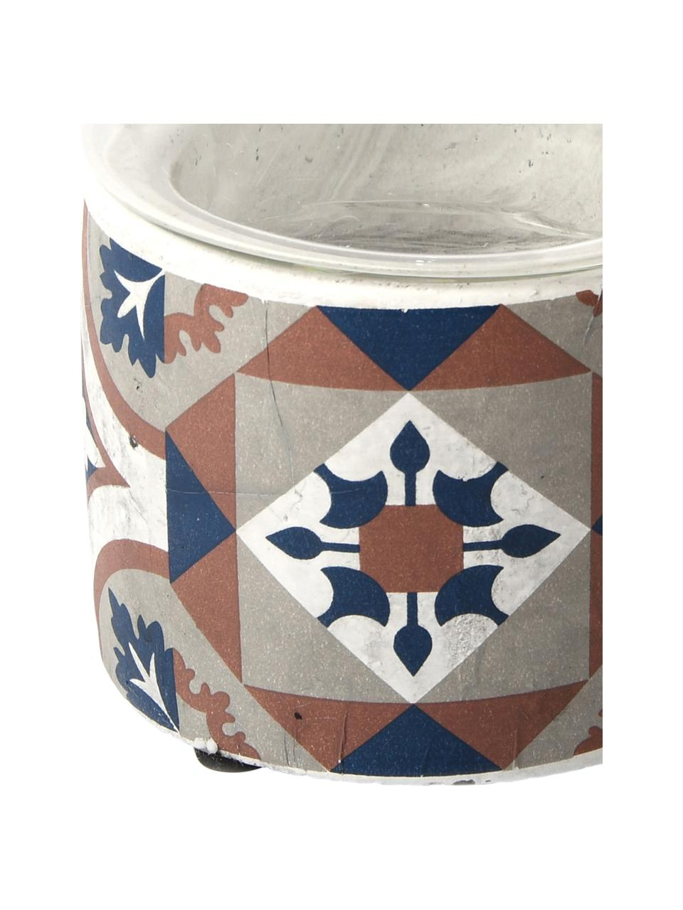 Portacandela Tiles, Multicolore, Ø 11 x Alt. 17 cm