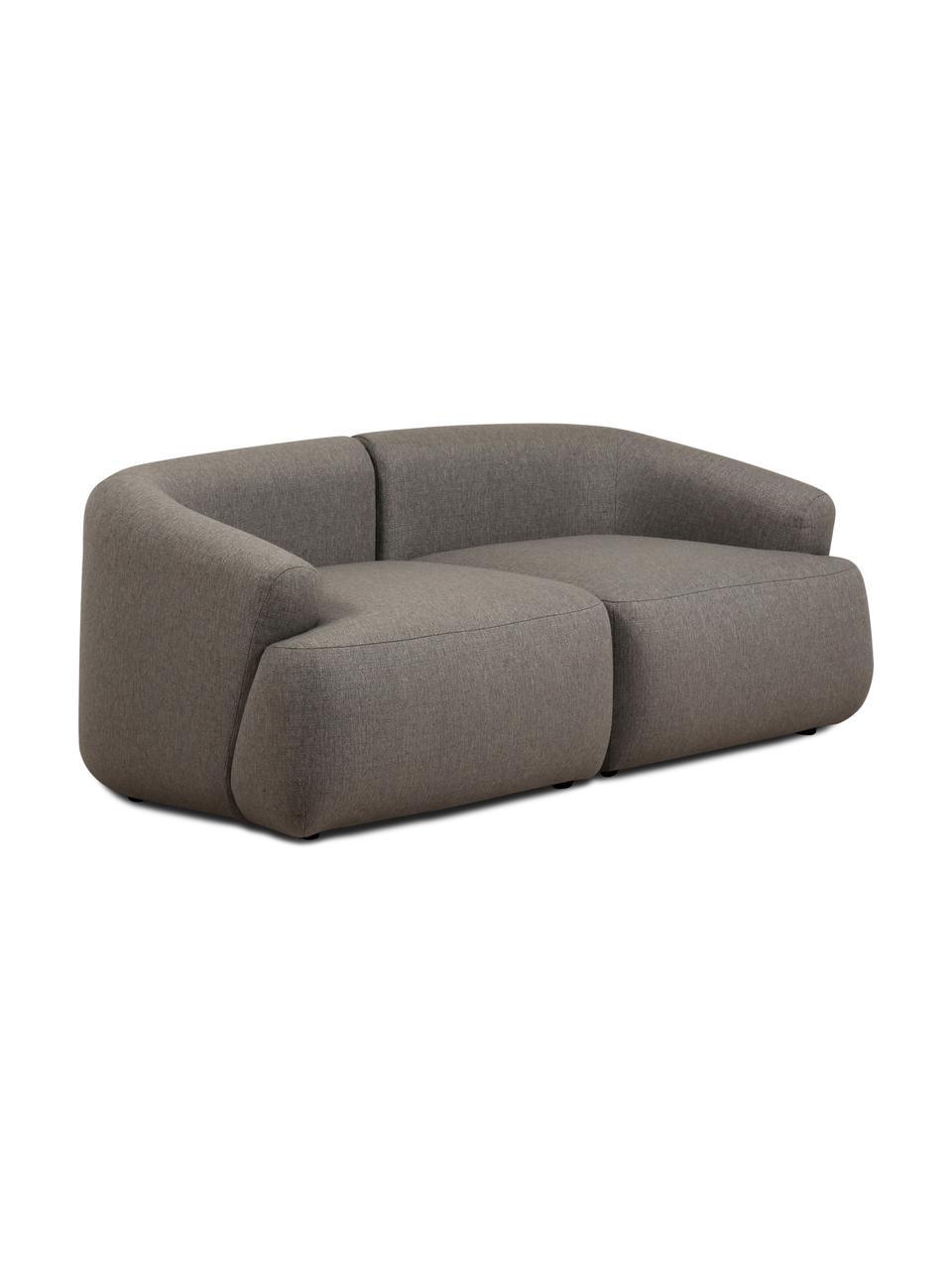 Canapé modulable gris Sofia (2 places), Gris
