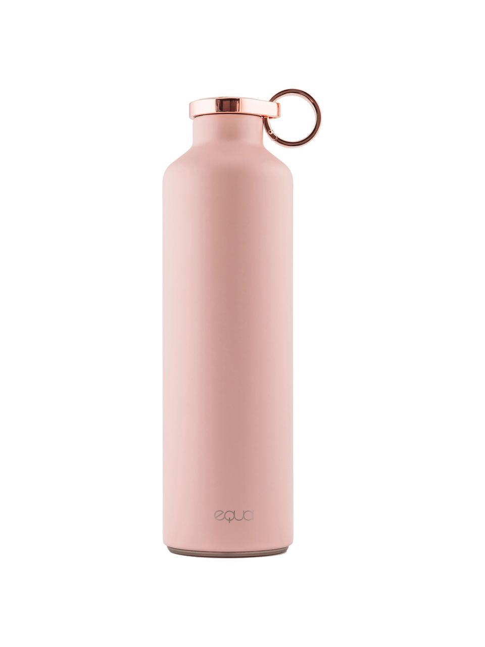 Isolierflasche Classy Thermo Pink Blush, Rostfreier Stahl, beschichtet, Rosa, Kupferfarben, Ø 8 x H 26 cm