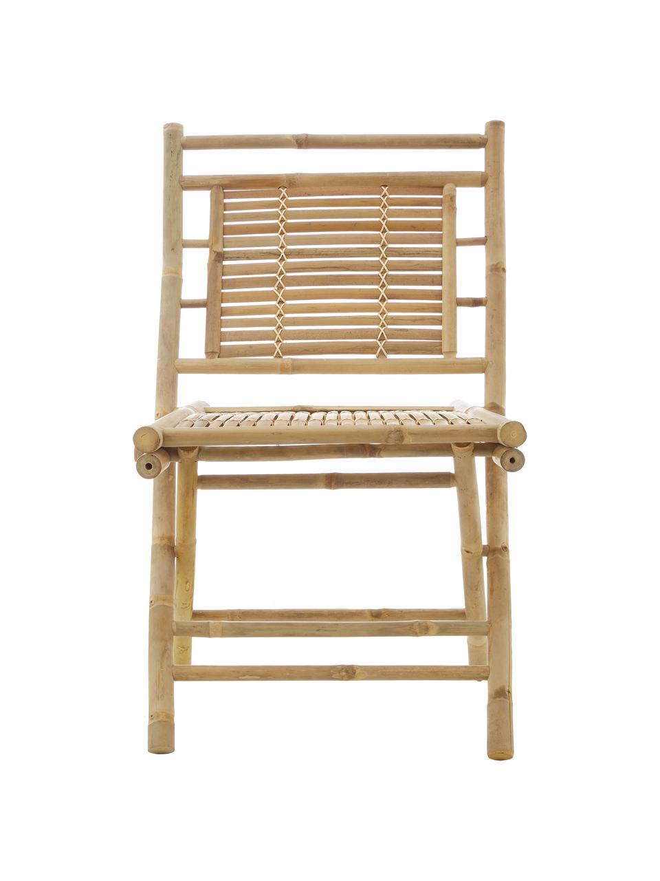Sedia pieghevole da giardino in bambù Tropical 2 pz, Bambù, Marrone, Larg. 45 x Prof. 55 cm