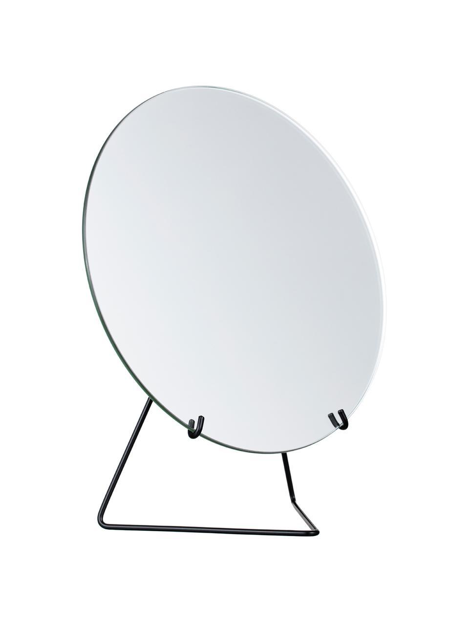 Kosmetikspiegel Standing Mirror, Gestell: Stahl, pulverbeschichtet, Gestell: Schwarz Spiegel: Spiegelglas, 20 x 23 cm