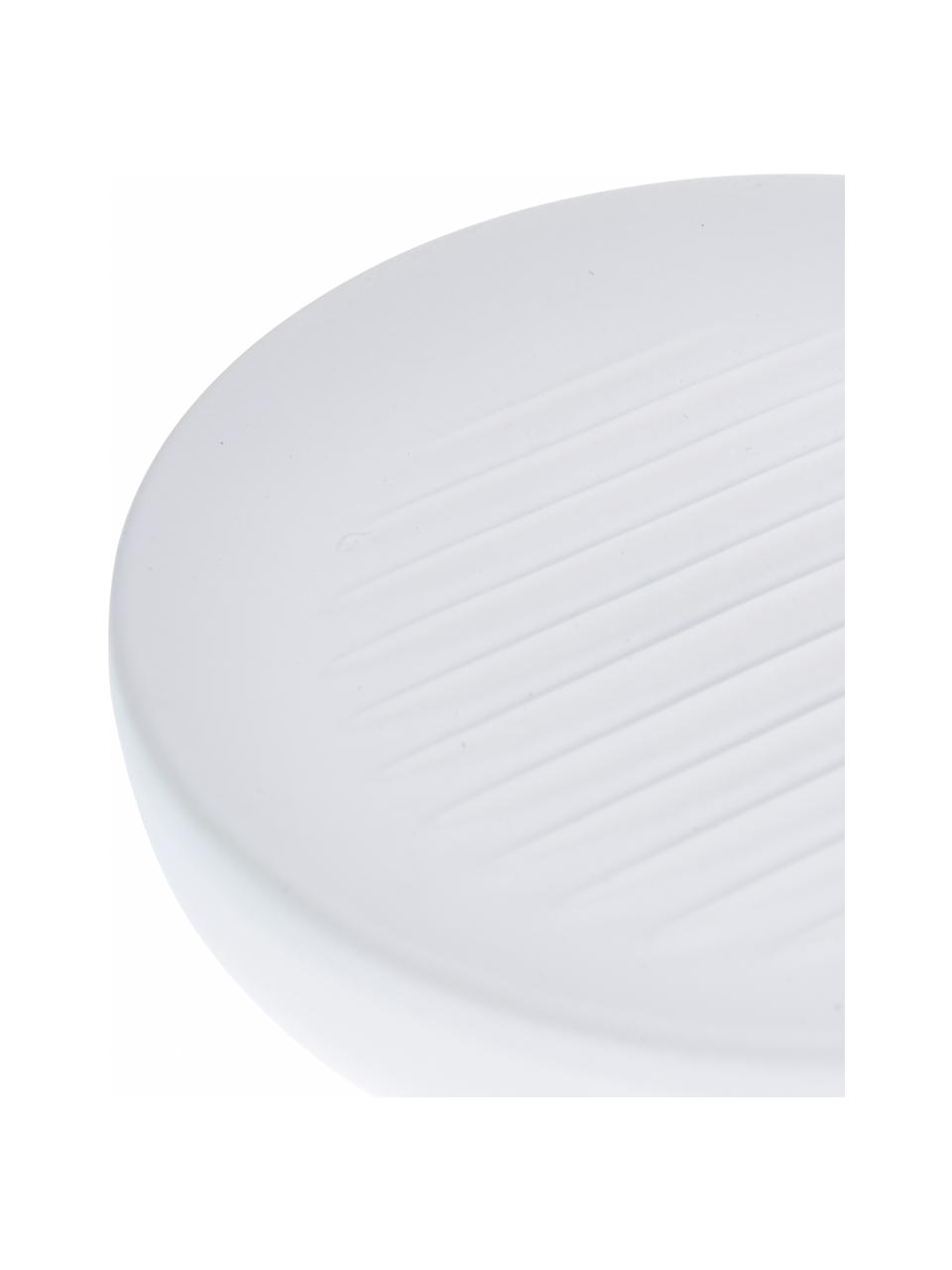 Mydelniczka z porcelany Ume, Porcelana, Biały, Ø 12 x W 3 cm
