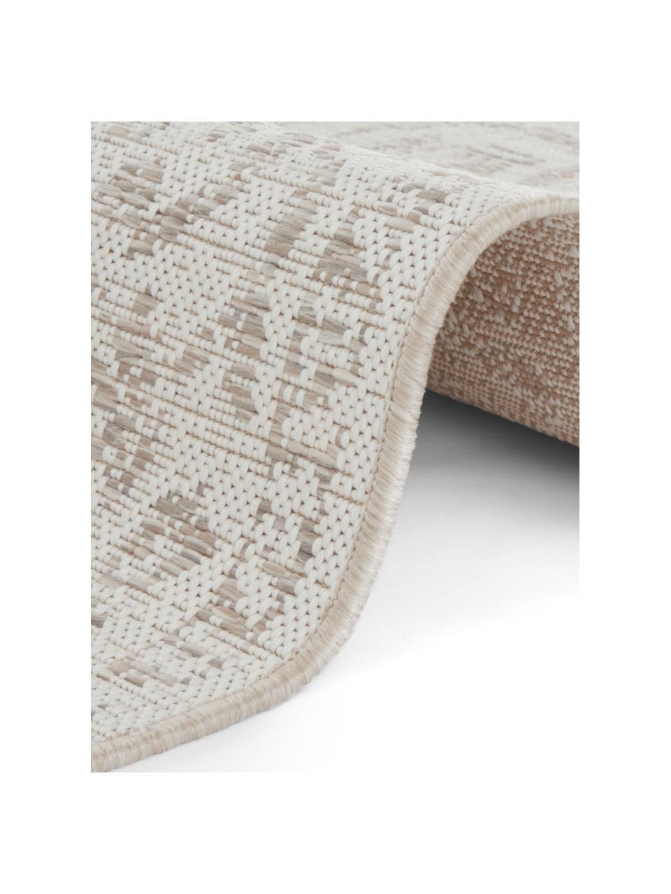 In- & Outdoor-Teppich Tilos im Vintage Style, 100% Polypropylen, Creme , Beige, B 160 x L 230 cm (Größe M)