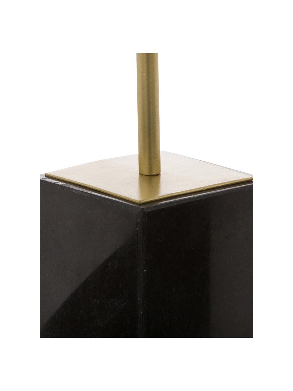 Dekoracja Marball, Nogi: marmur, Nasada: odcienie złotego Podstawa: czarny marmur, W 30 cm