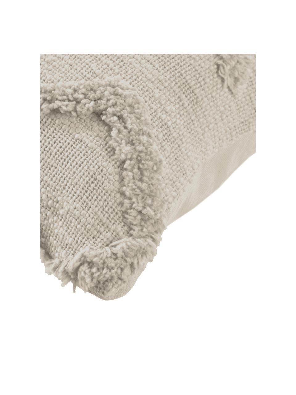 Poszewka na poduszkę Xayoxhira, 100% bawełna, Beżowy, S 45 x D 45 cm