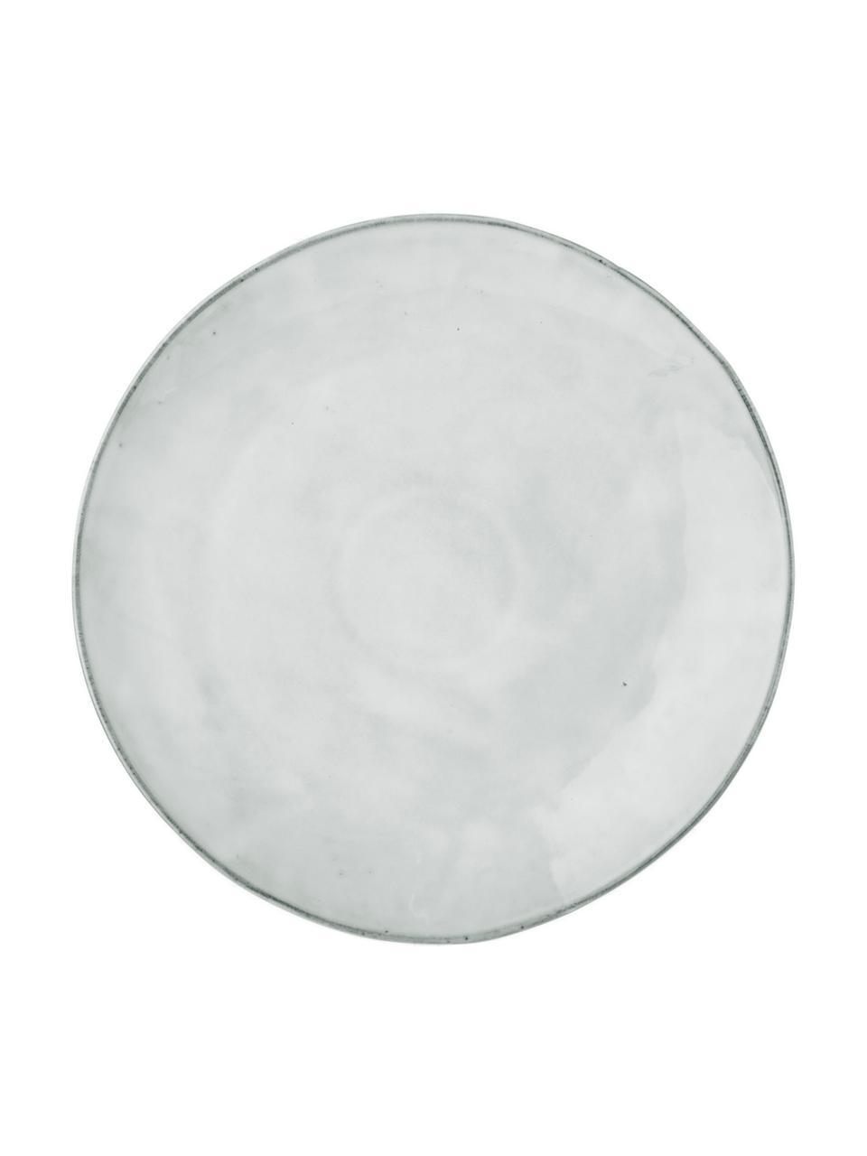 Handgemachte Platzteller Nordic Sand aus Steingut, 4 Stück, Steingut, Sand, Ø 31 cm