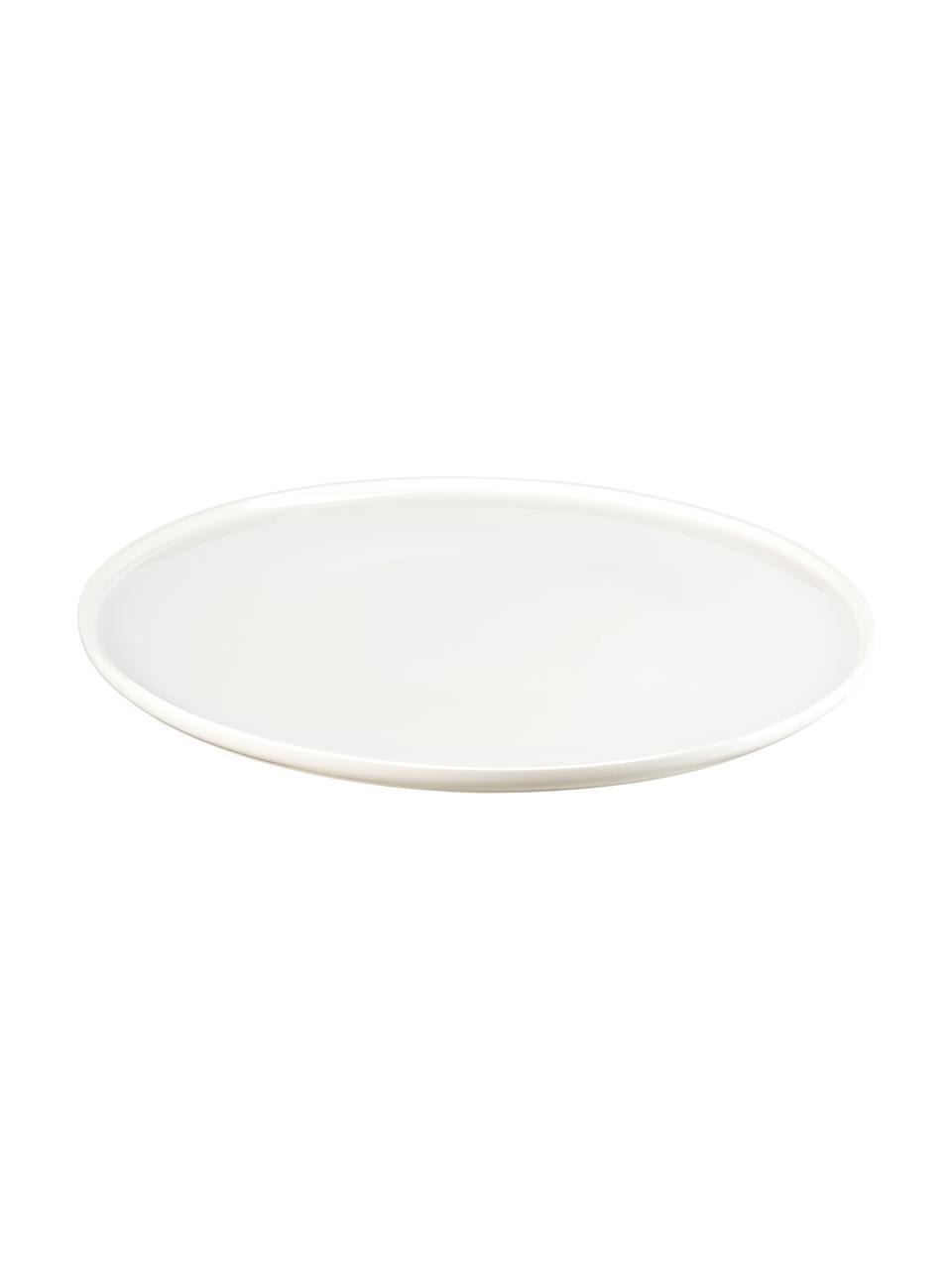 Piatto Fine Bone China Oco 6 pz, Fine Bone China (porcellana) La Fine Bone China è una porcellana a pasta morbida particolarmente caratterizzata dalla sua lucentezza radiosa e traslucida, Avorio, Ø 32 cm