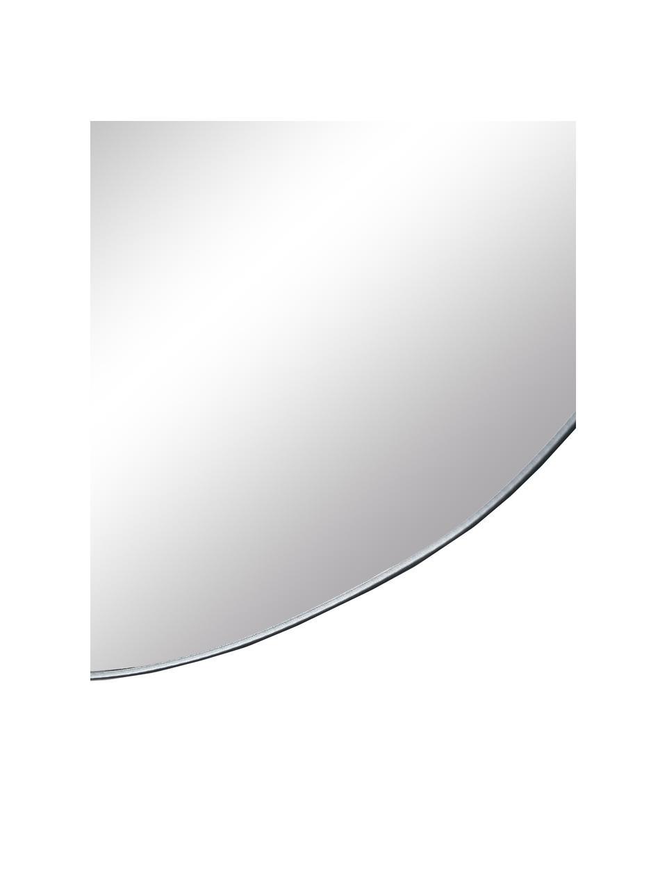Rahmenloser Wandspiegel Lake, Spiegelfläche: Spiegelglas, Rückseite: Mitteldichte Holzfaserpla, Silber, 50 x 50 cm