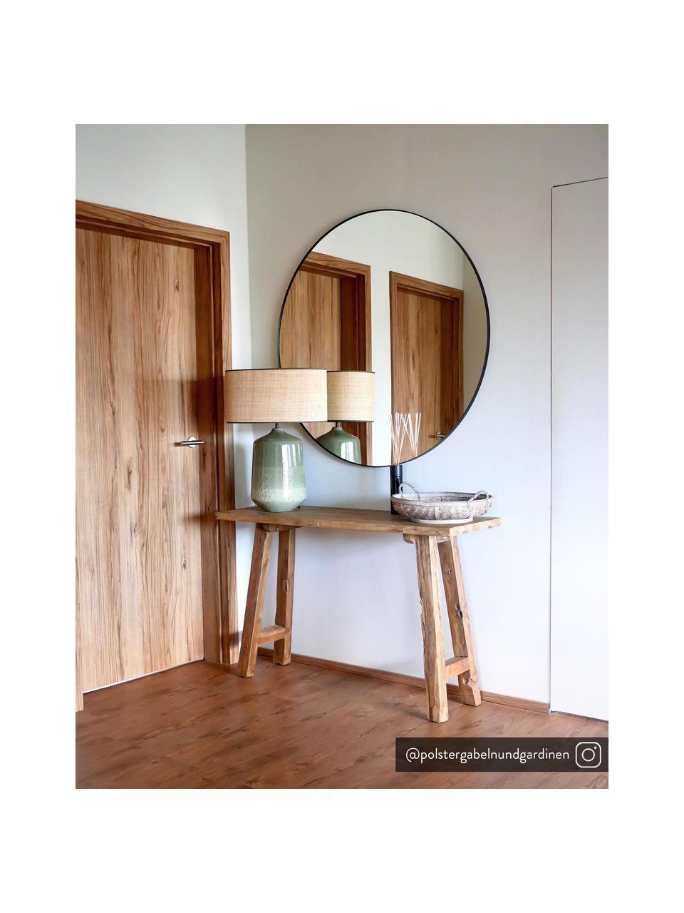 Sidetable Lawas van gerecycled hout, Natuurlijk teakhout, Teakhout, B 120 x D 40 cm