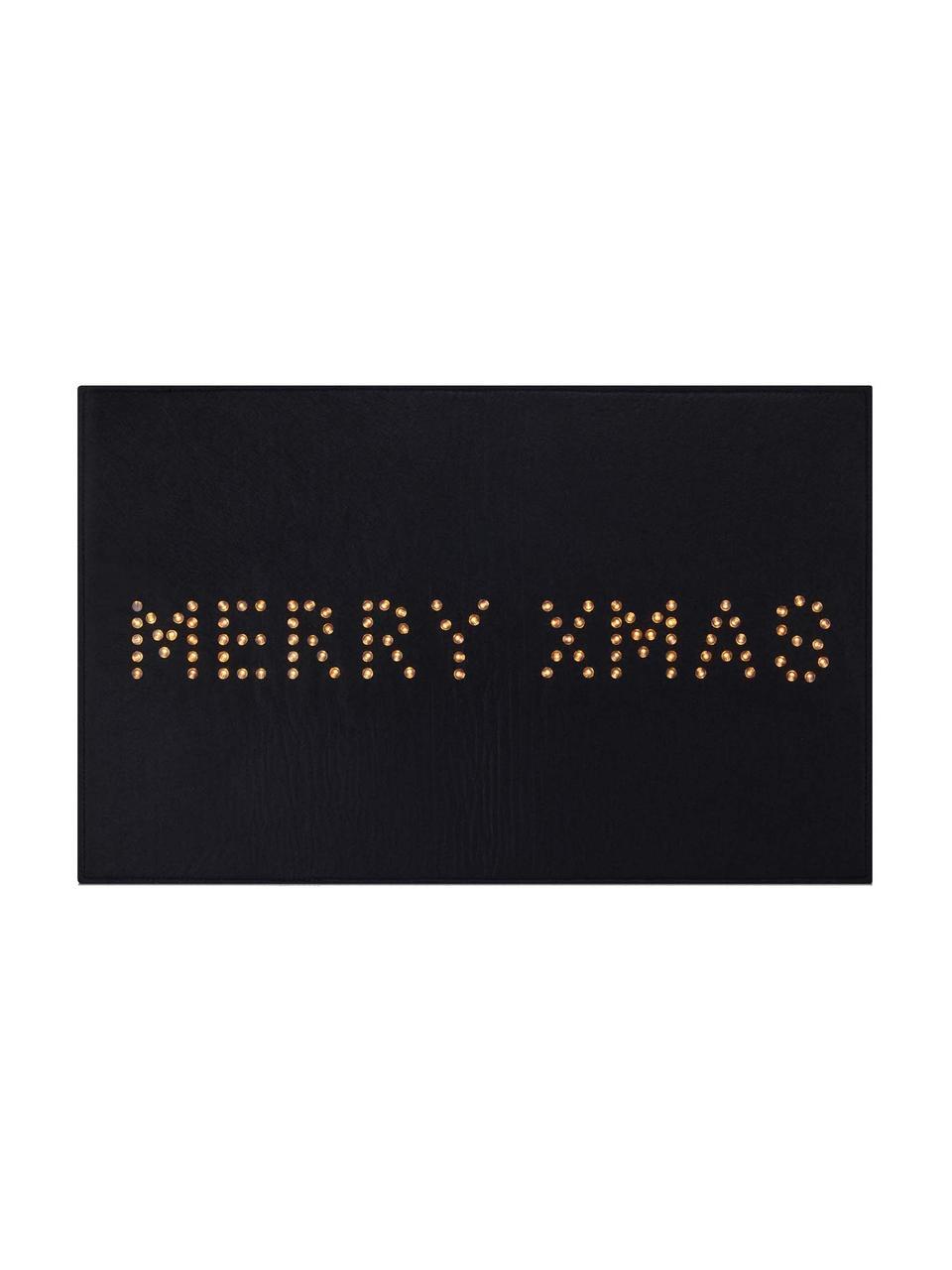 Leuchtende Fußmatte Lysa L 80 cm, mit Stecker, Kunststoff, Schwarz, 80 x 50 cm