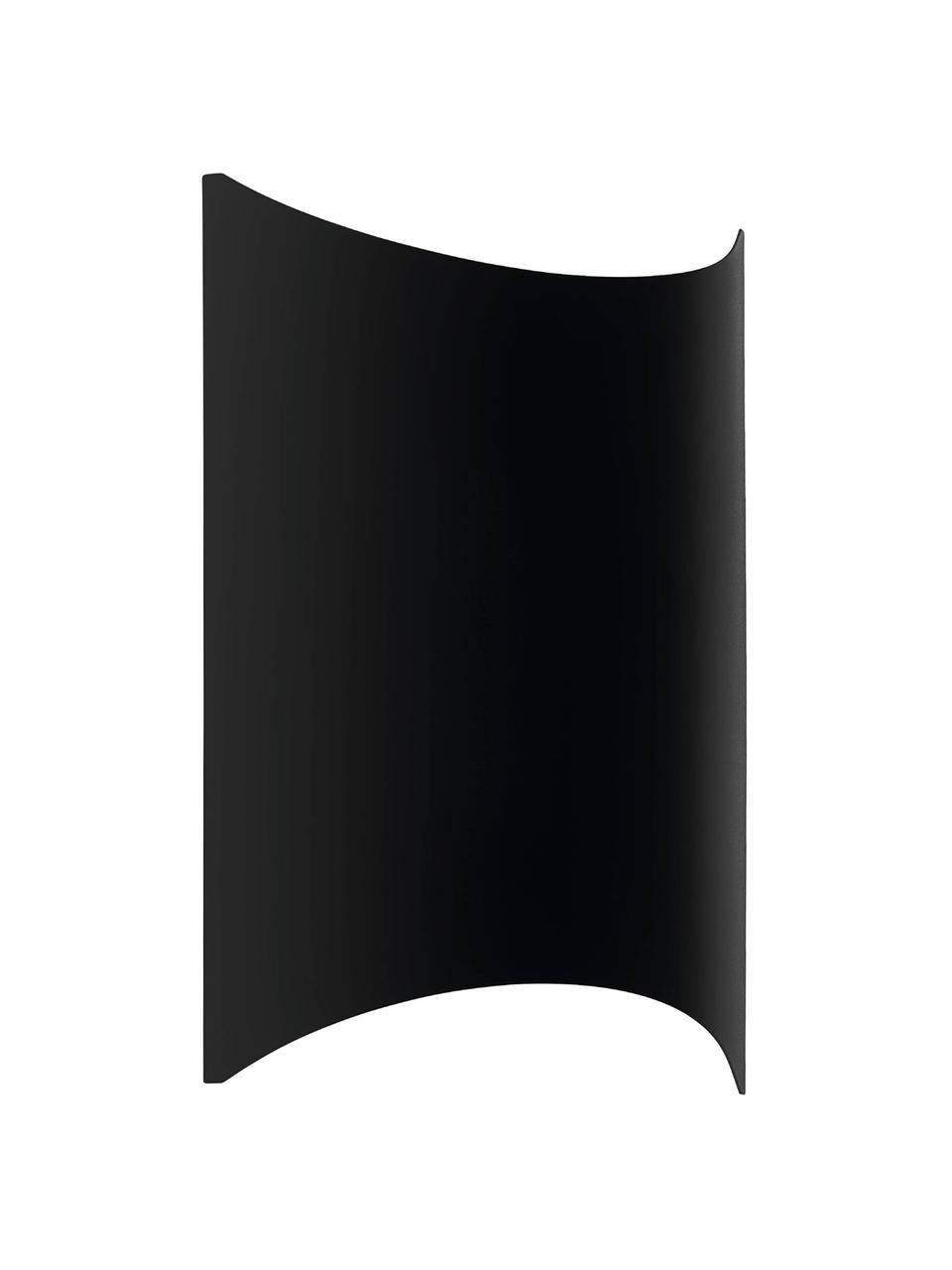 Zewnętrzny kinkiet LED Lagasco, Czarny, S 19 x W 28 cm