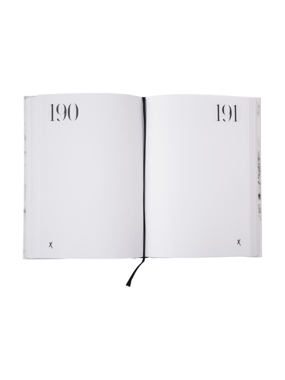 Notatnik 365 of whatever you want, Papier, Biały, czarny, S 15 x W 21 cm