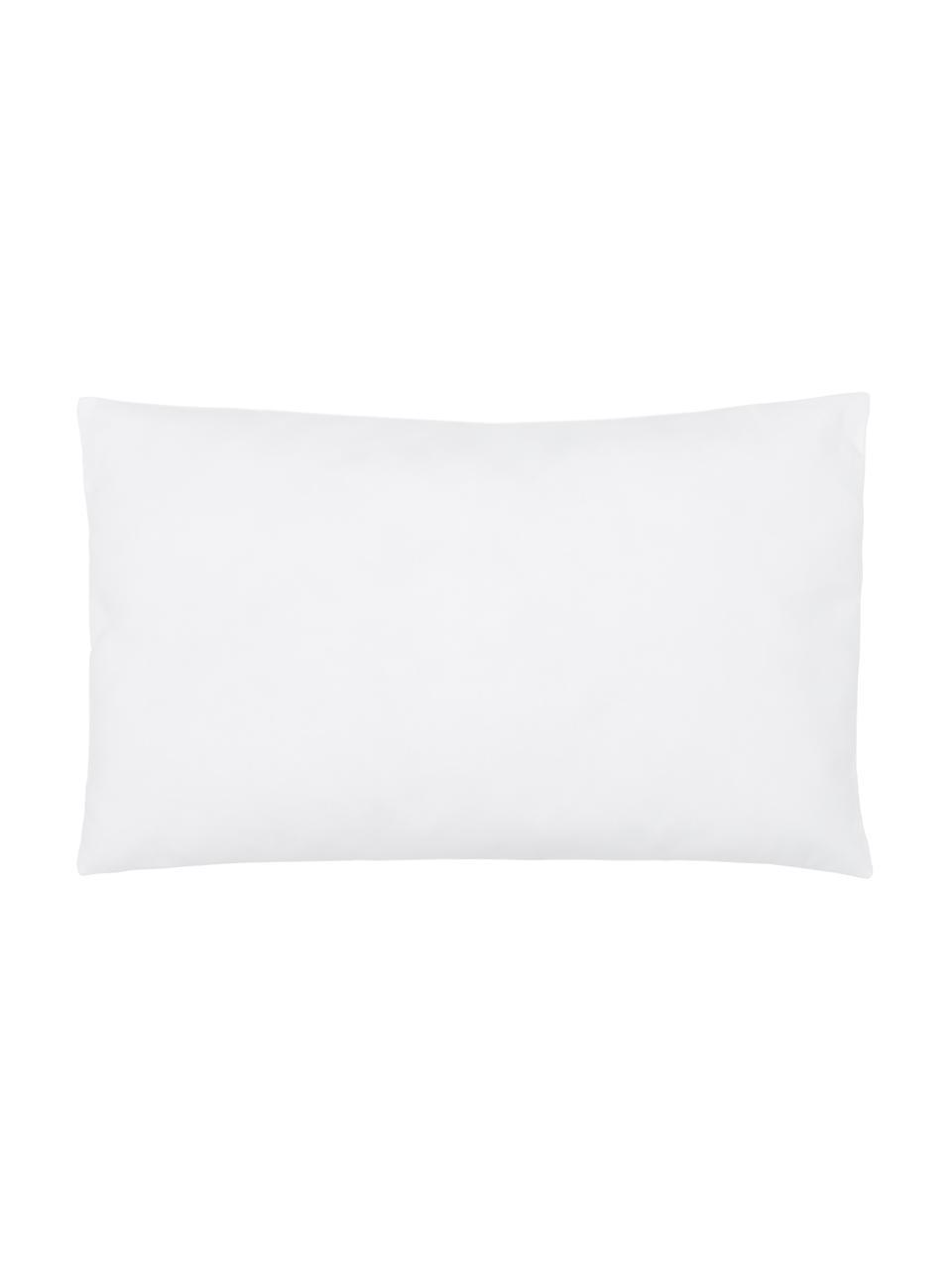 Microfiber kussenvulling Sia, 30 x 50 cm, Wit, 30 x 50 cm