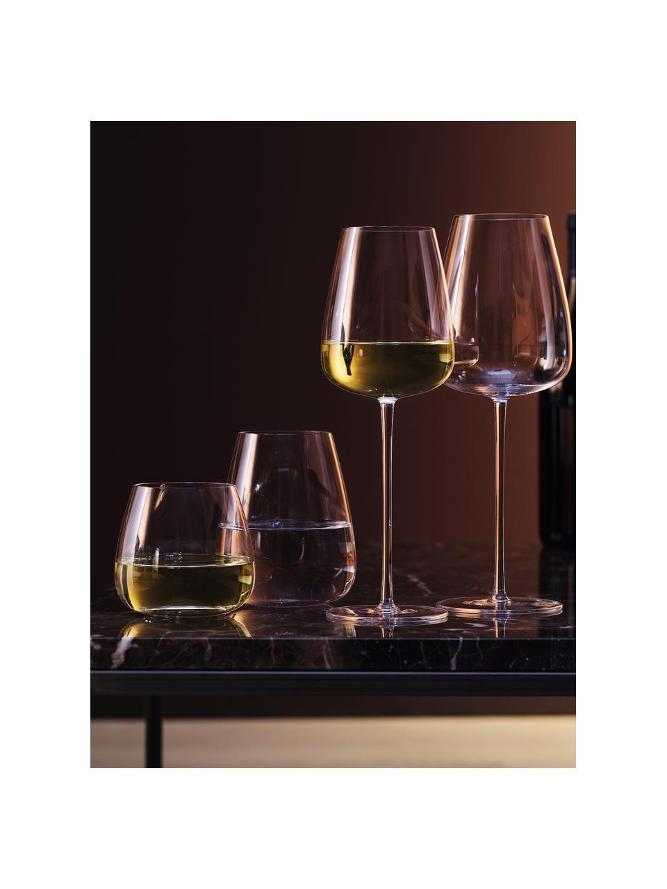 Kieliszek do białego wina ze szkła dmuchanego  Wine Culture, 2 szt., Szkło, Transparentny, Ø 9 x W 26 cm