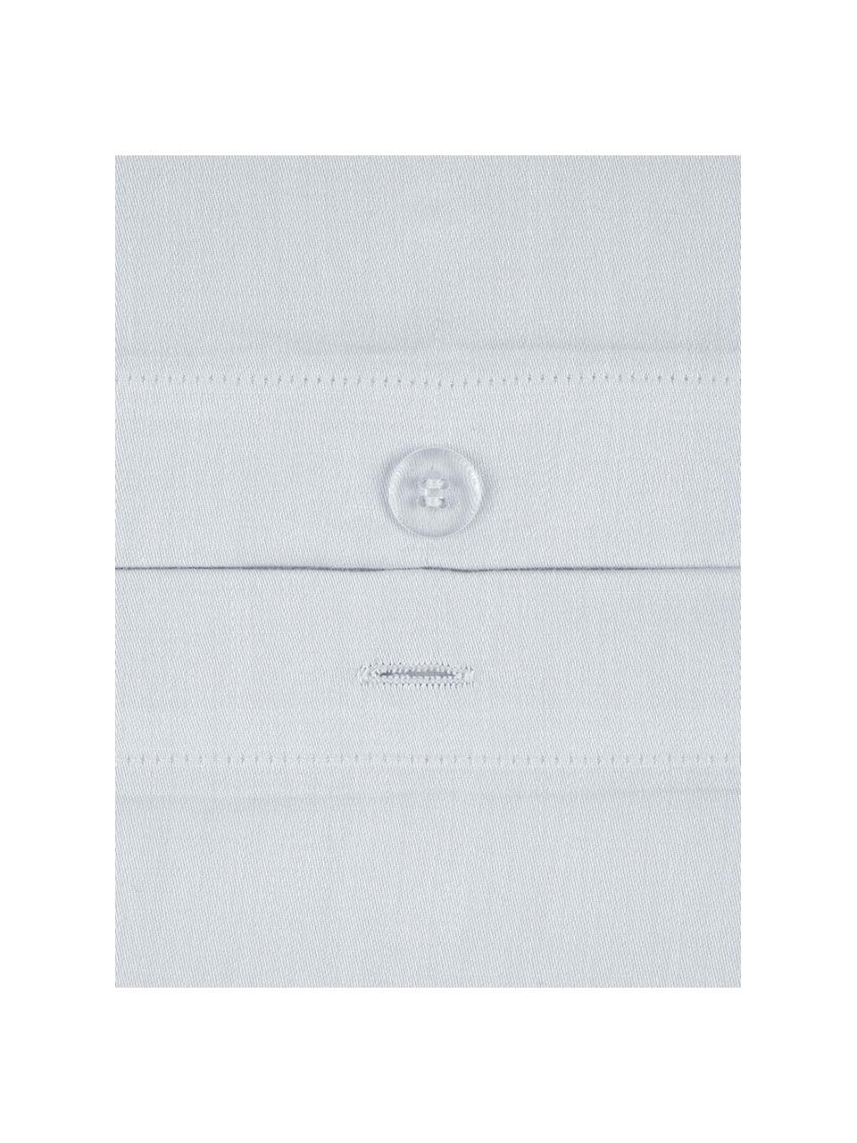 Baumwollsatin-Kopfkissenbezüge Comfort in Hellgrau, 2 Stück, Webart: Satin Fadendichte 250 TC,, Hellgrau, 40 x 80 cm