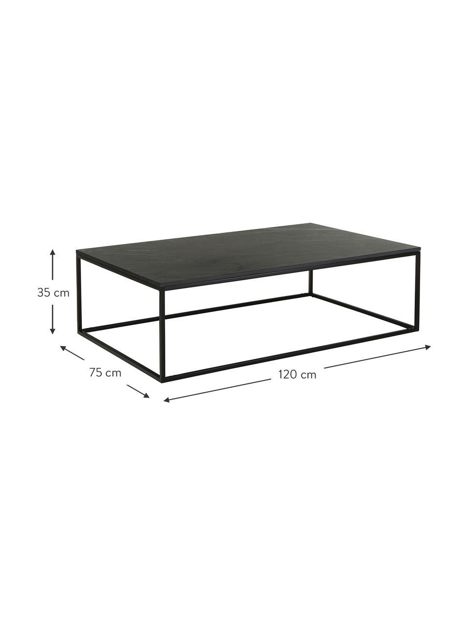 Grande table basse en marbreAlys, Noir