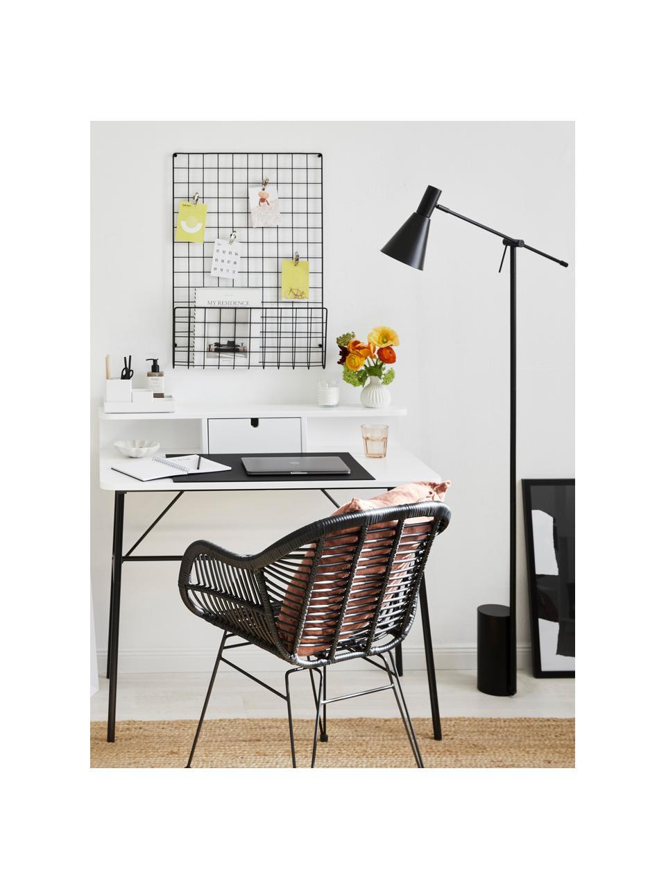 Lampa do czytania Sia, Czarny, G 60 x W 162 cm