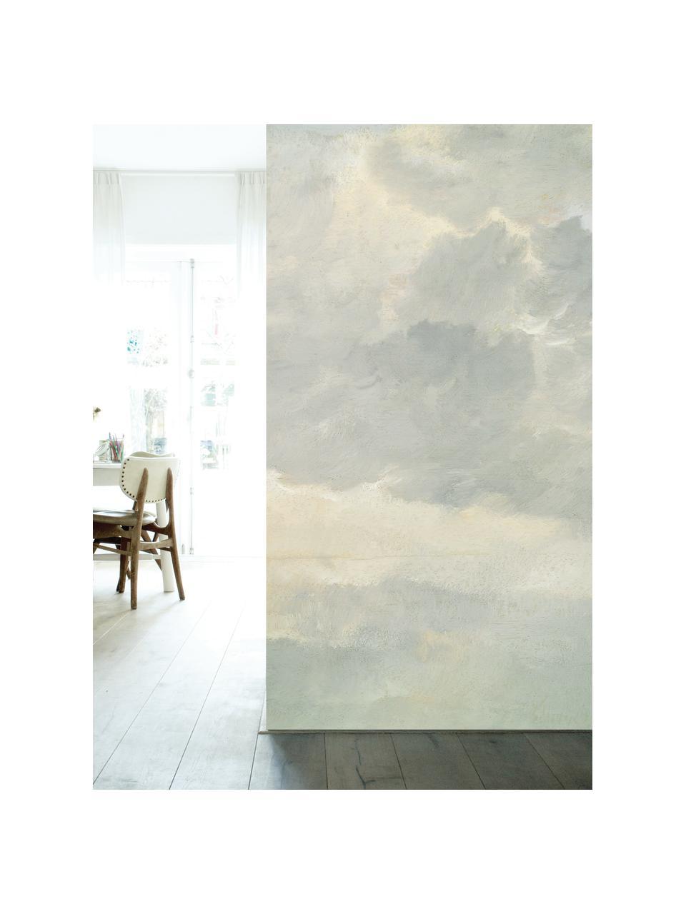 Fototapeta Golden Age Clouds, Włóknina, przyjazna dla środowiska i biodegradowalna, Szary, beżowy, matowy, S 292 x W 280 cm