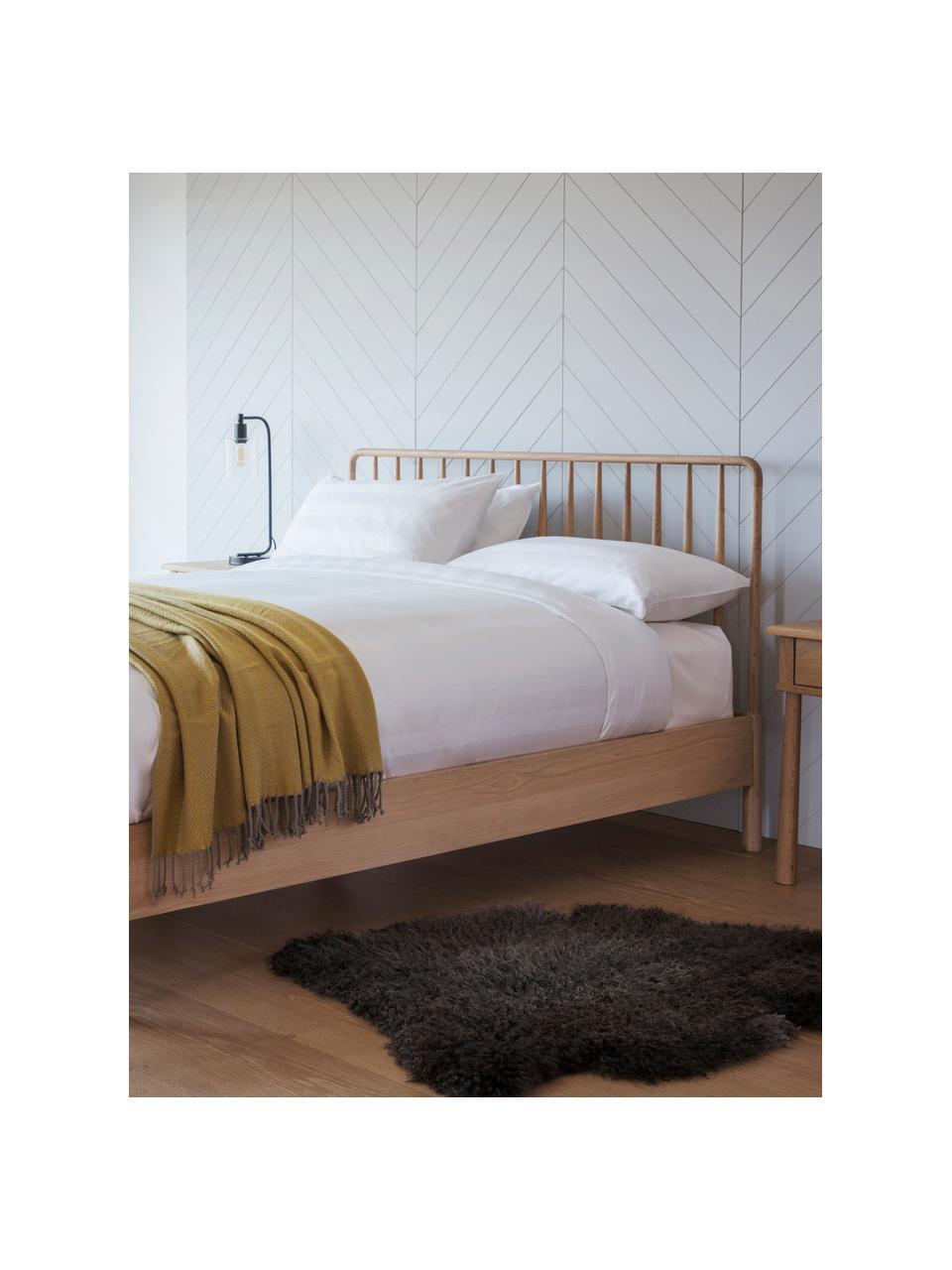 Bett Wycombe aus Eichenholz, Eichenholz, 180 x 200 cm