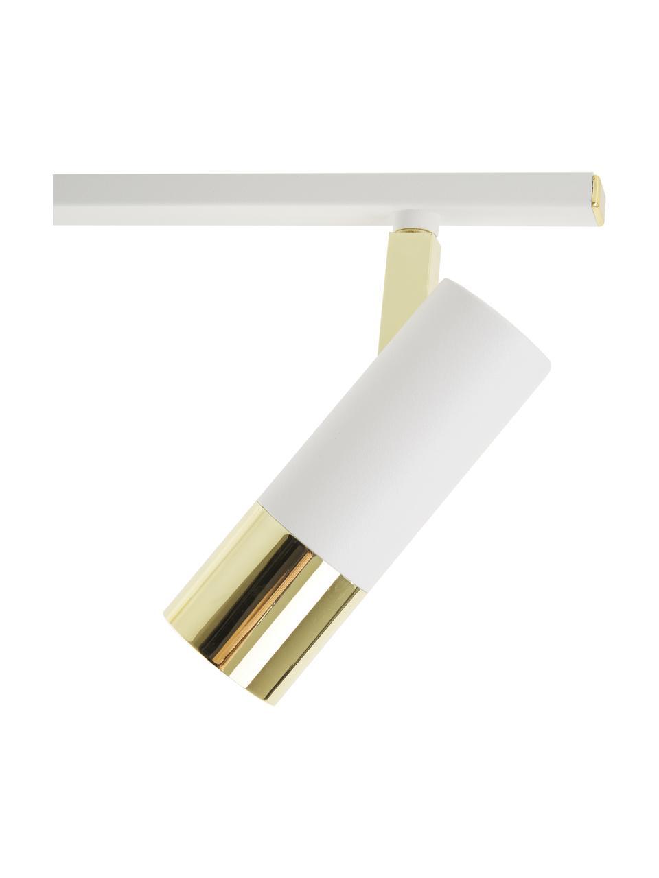 Lampa sufitowa LED Bobby, Biały, S 66 x W 13 cm