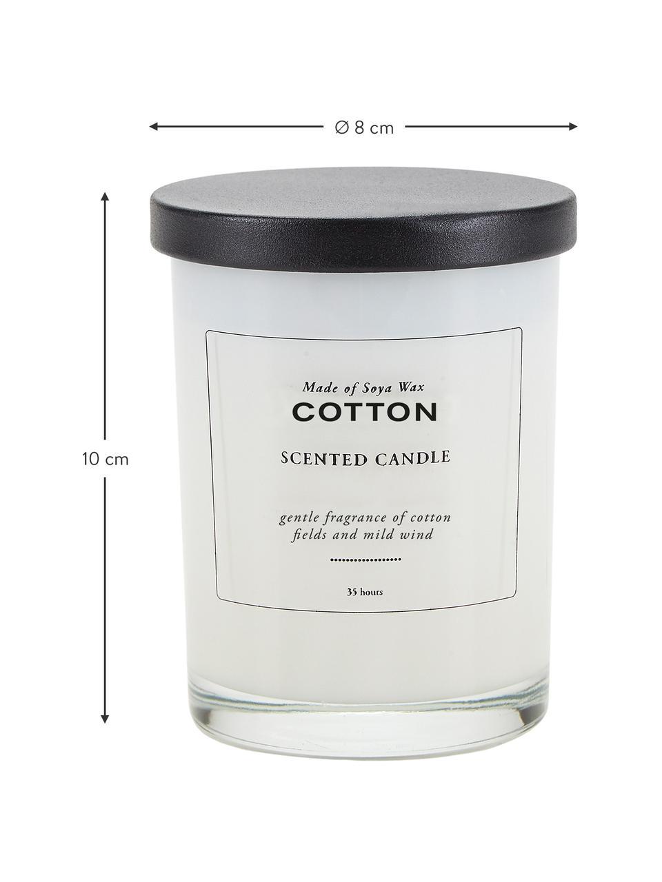 Vonná sviečka Cotton (bavlna, jemný vietor), Bavlna, jemný vietor