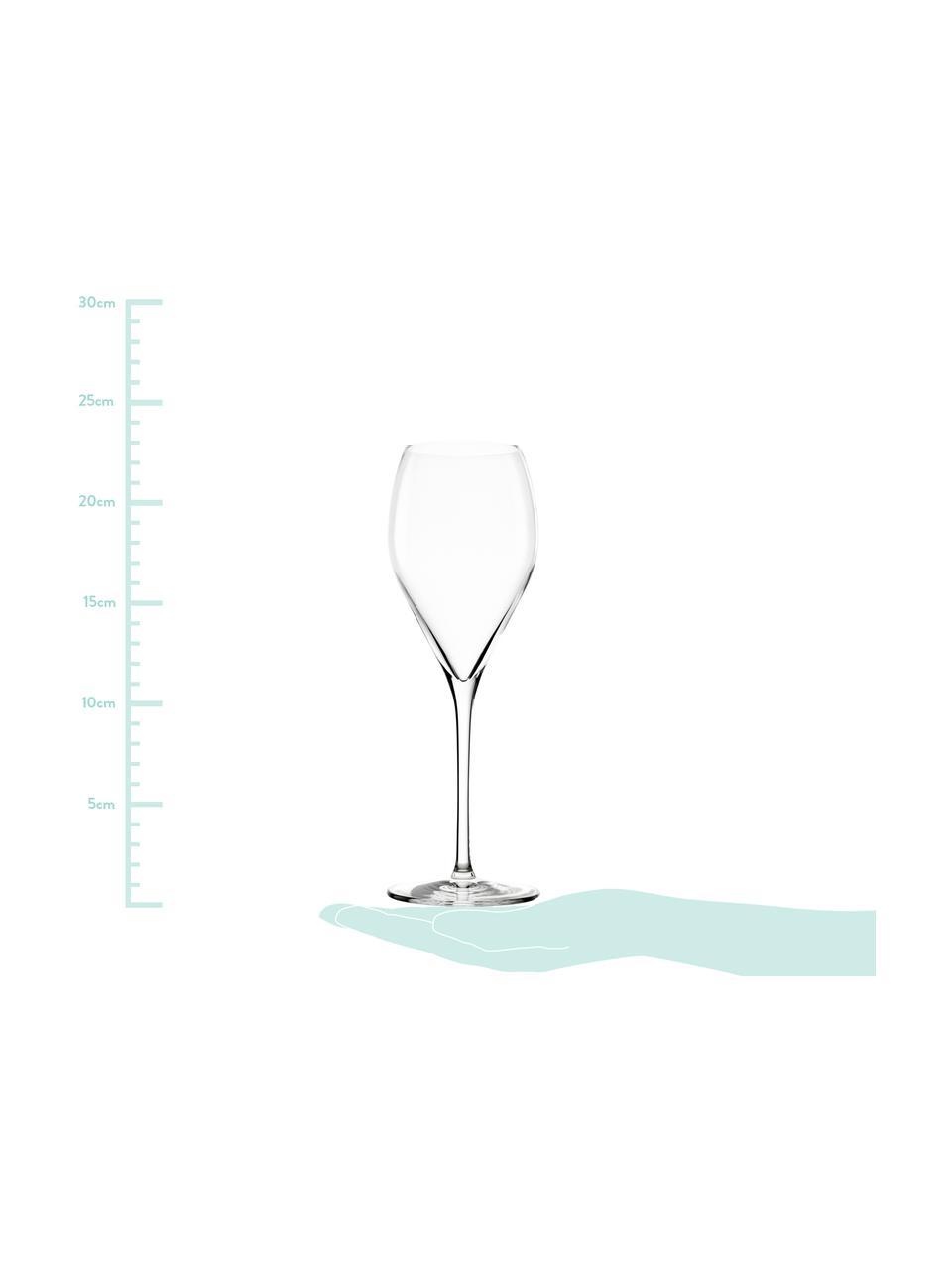 Křišťálová sklenice na šampaňské Prestige, 6 ks, Transparentní