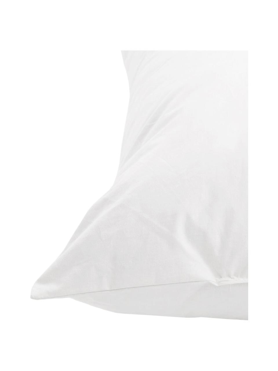 Kissen-Inlett Comfort, 60x60, Feder-Füllung, Bezug: Feinköper, 100% Baumwolle, Weiß, 60 x 60 cm