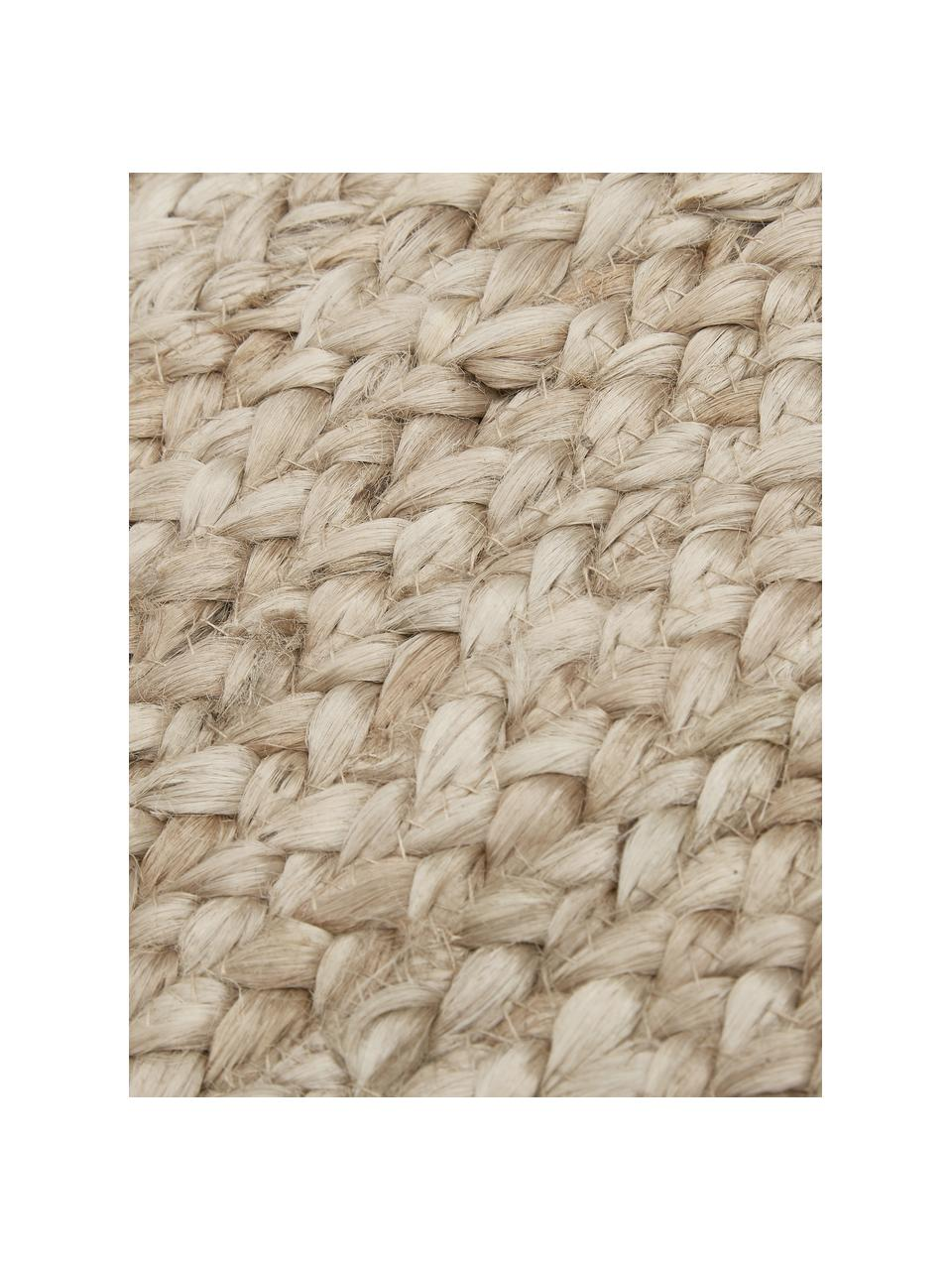 Ručně tkaný jutový koberec Sharmila, Béžová