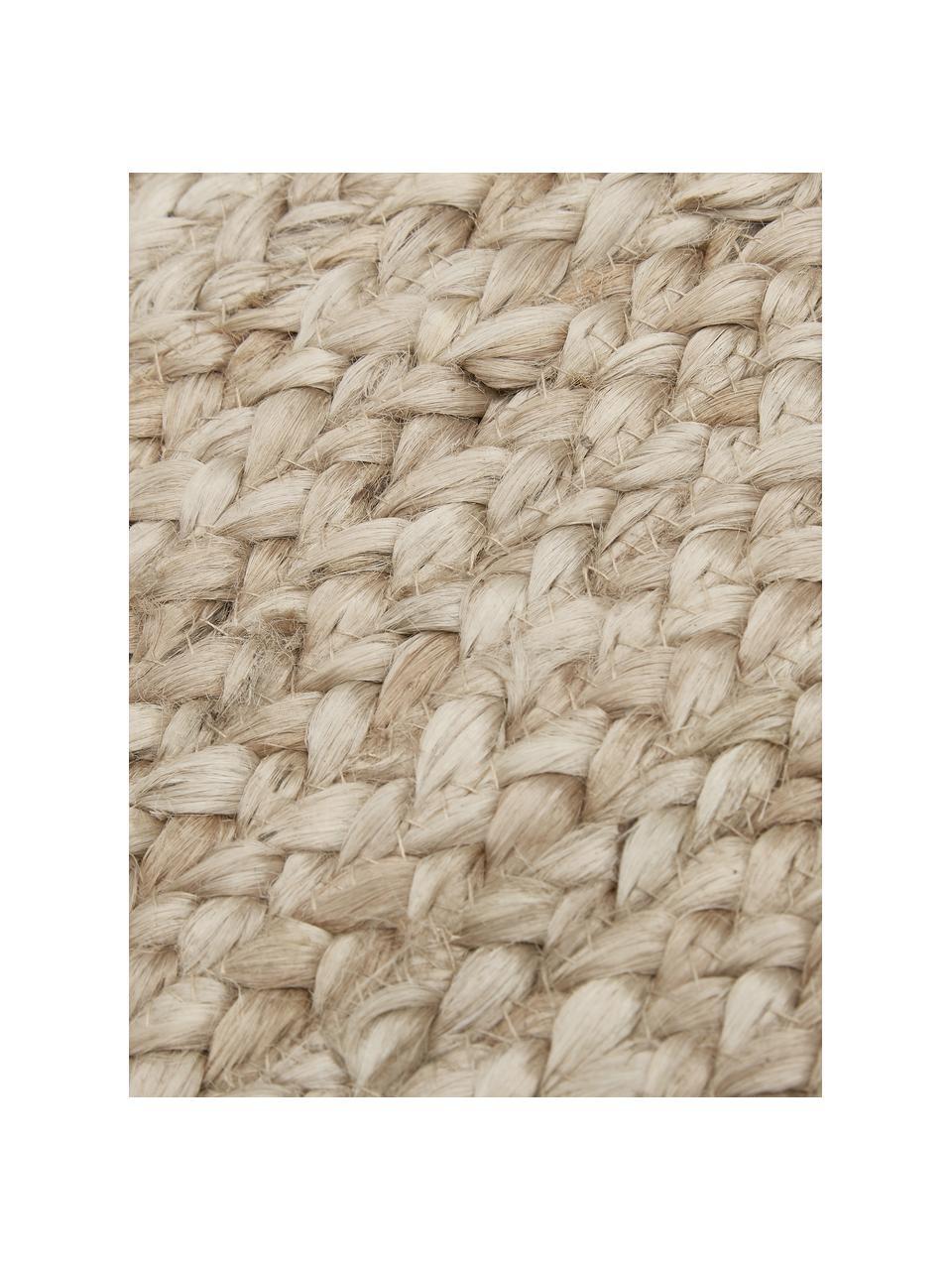 Ručne vyrobený jutový koberec Sharmila, Béžová