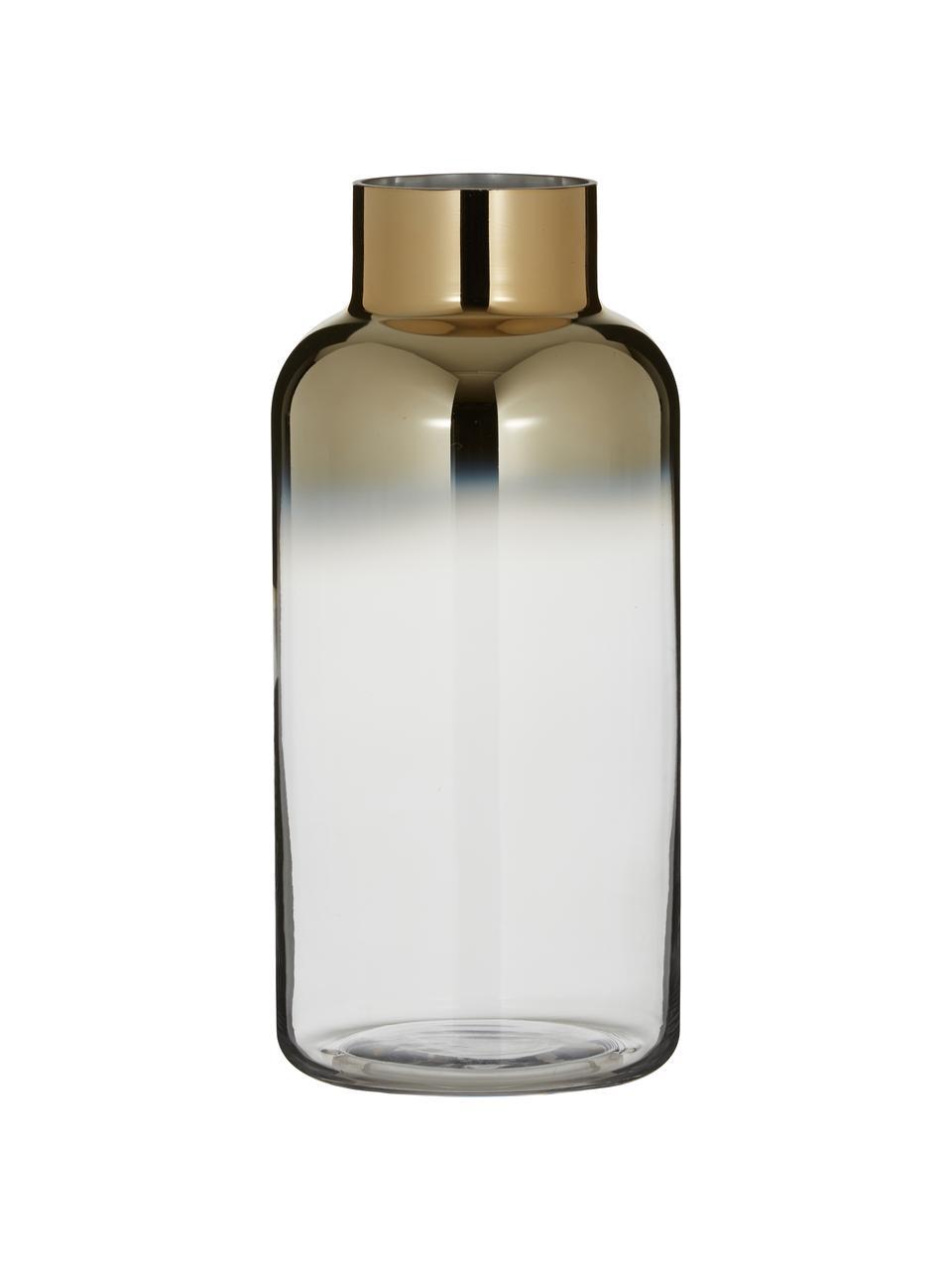 Váza Uma, Transparentní, zlatá