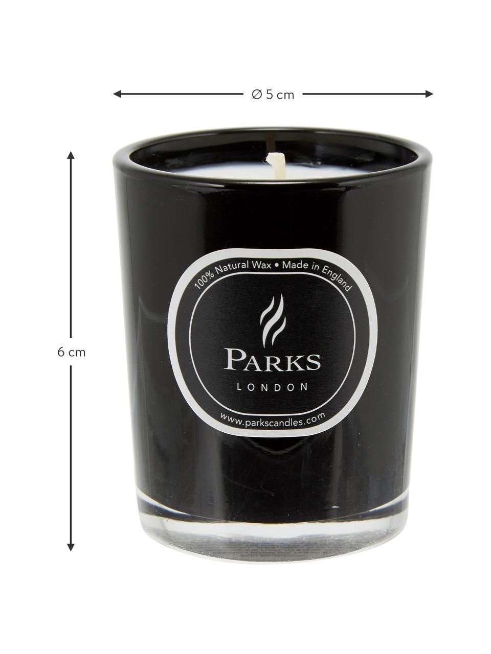 Bougie parfumée Noir (bois de santal & ylang-ylang), Noir