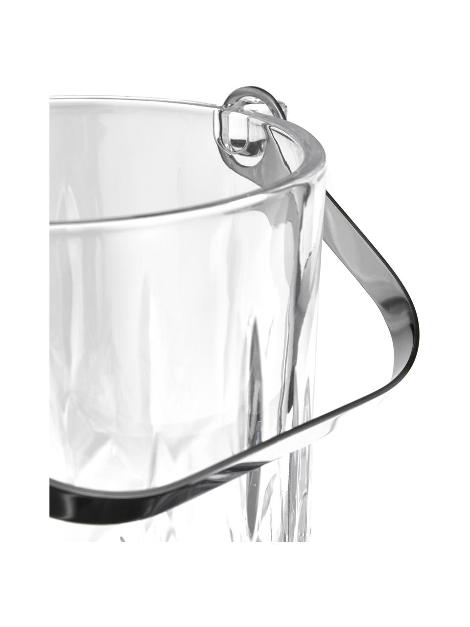 Malé vědro na led s kleštěmi Harvey, 2 díly, Transparentní