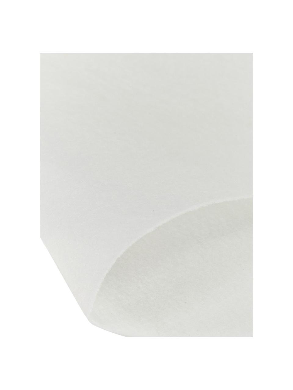 Podkład dywanowy z polaru poliestrowego My Slip Stop, Polar poliestrowy z powłoką antypoślizgową, Kremowy, S 180 x D 270 cm