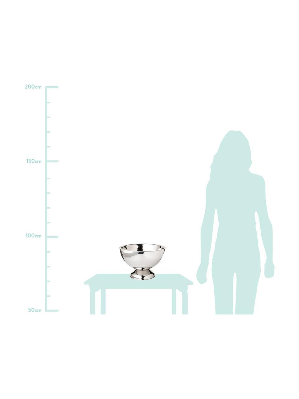 Cooler do butelek ze stali szlachetnej Cadiz, różne rozmiary, Stal szlachetna Wewnątrz młotkowana, na zewnątrz gładka, Stal szlachetna, Ø 32 x W 21 cm