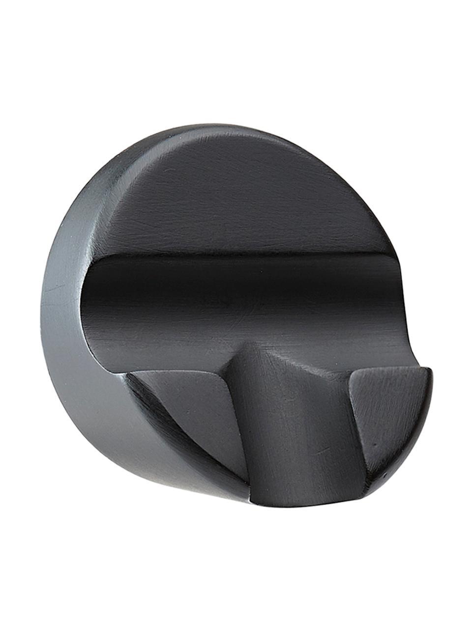 Tergivetro con supporto a parete Nova, Tergivetro: plastica (ABS), Labbro: silicone, Nero, Larg. 21 x Alt. 5 cm
