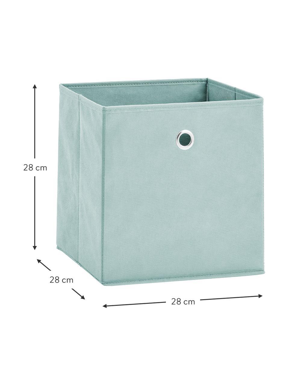 Boîte de rangement Lisa, Vert menthe