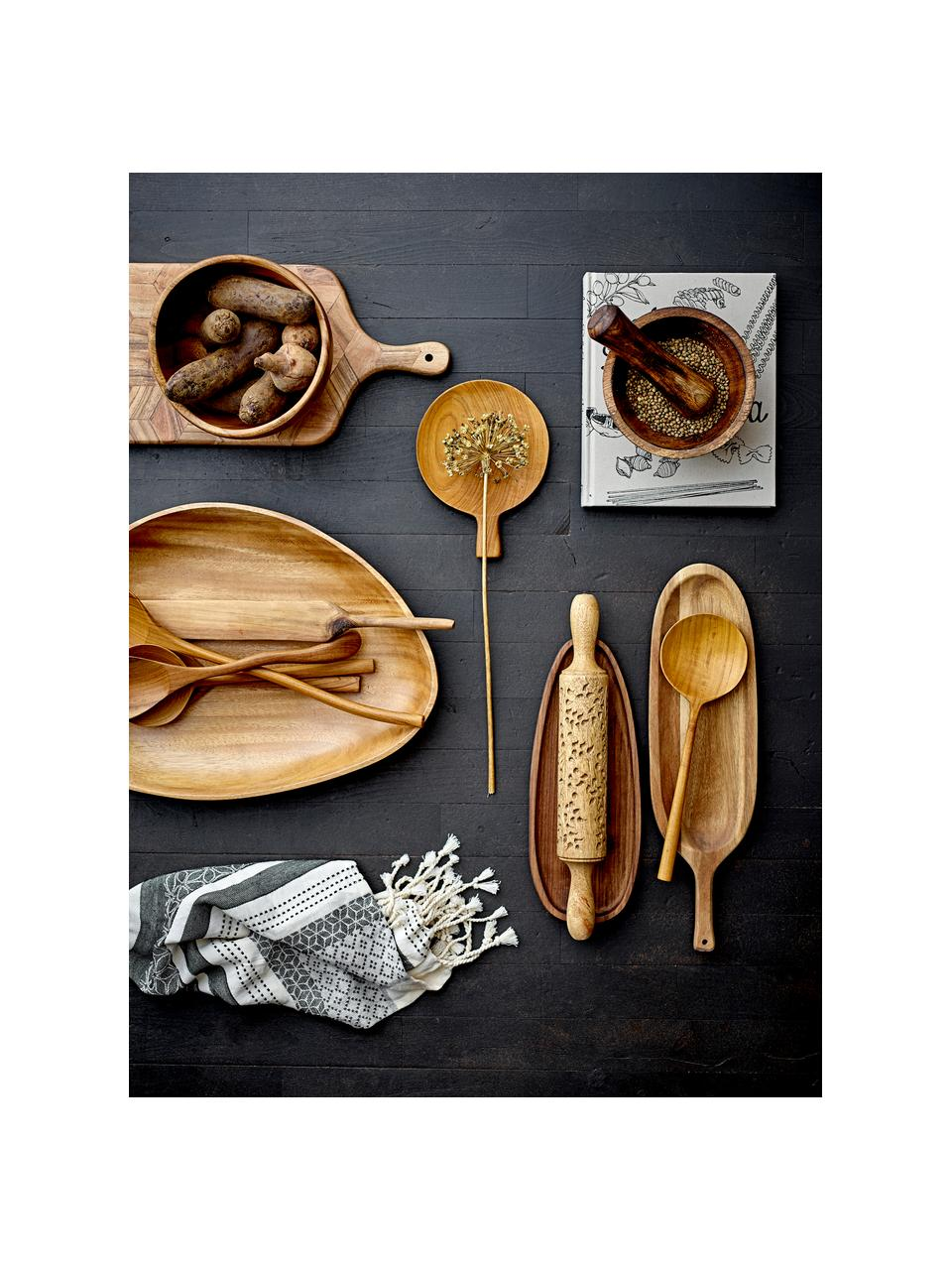 Torchon coton beige gris Nature, 2pièces, Beige, gris