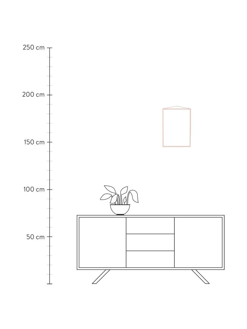Ramka na zdjęcia Colour Frame, Blady różowy, S 30 x W 42 cm