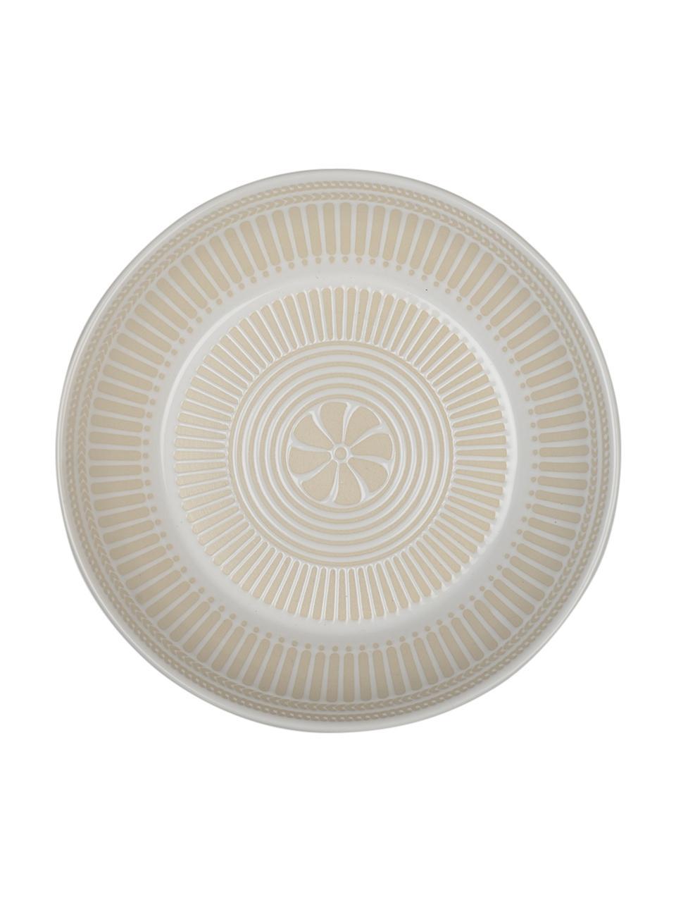 Assiette creuse en porcelaine Sonia, 2 pièces, Blanc