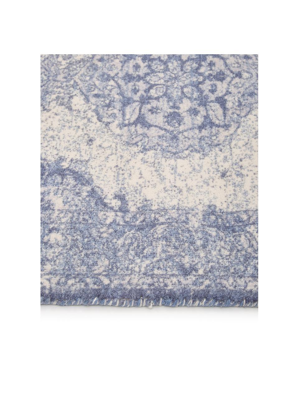 Tapis vintage Elegant, Bleu
